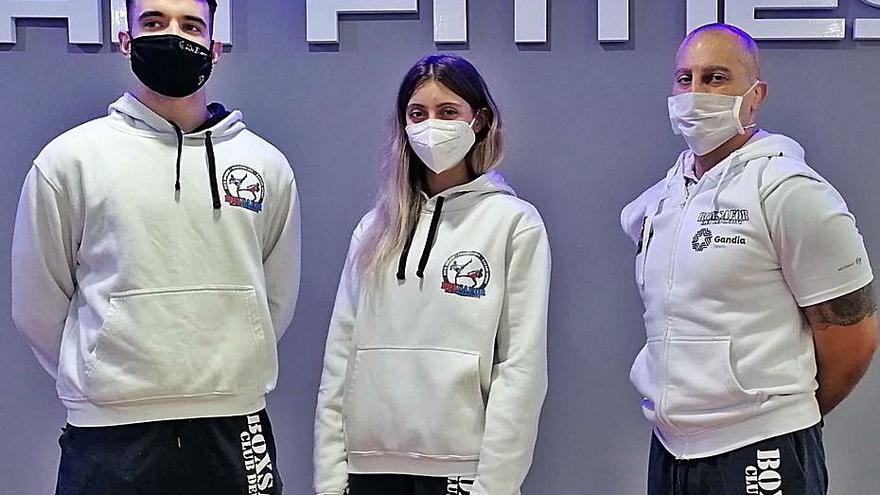 Monika Petrova y César Heredero aspiran a podio en el Nacional de kick boxing