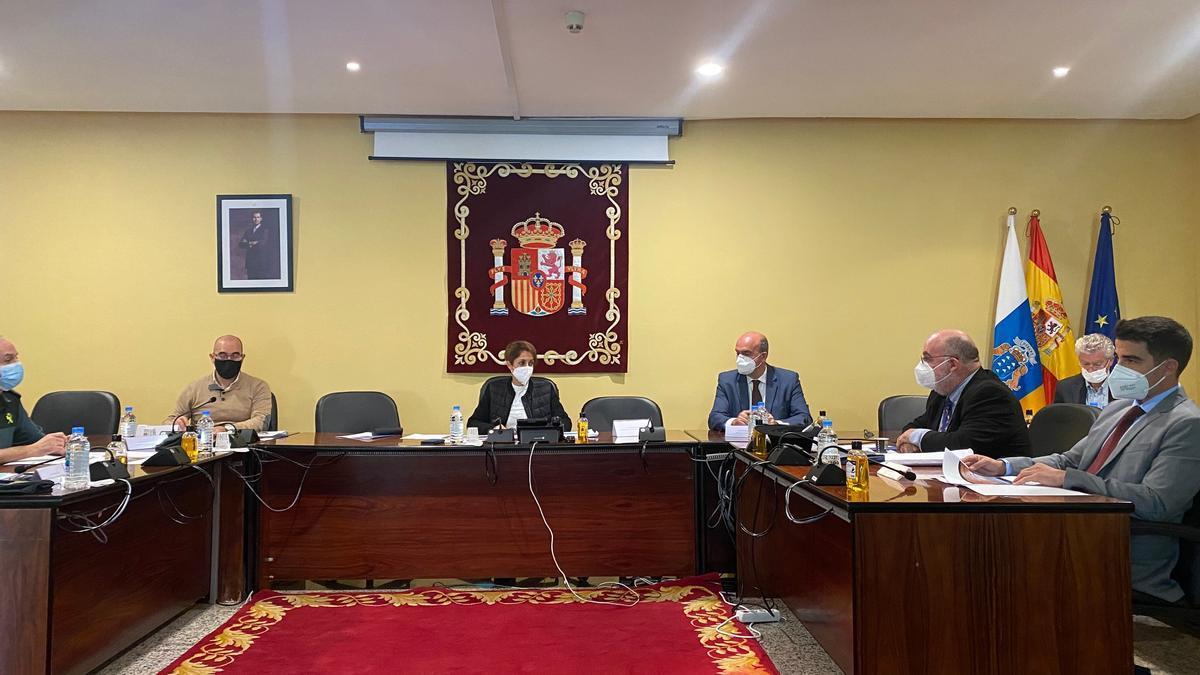 Pestana participa en la Junta Local de Seguridad de Mogán