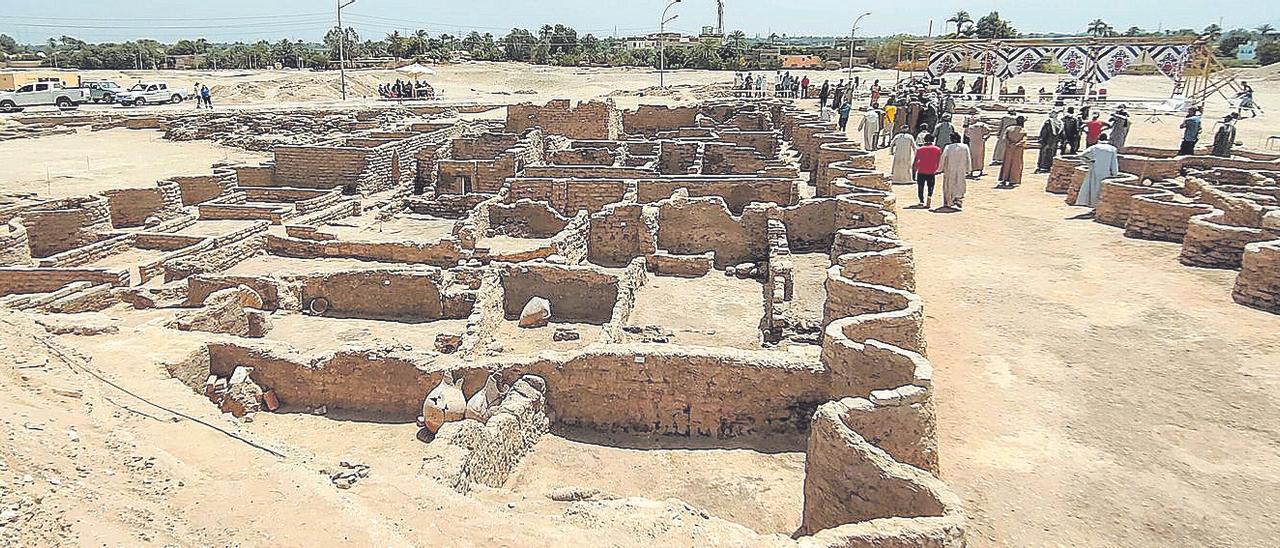 Un hallazgo arqueológico que hace que el mundo vuelva a mirar a Egipto