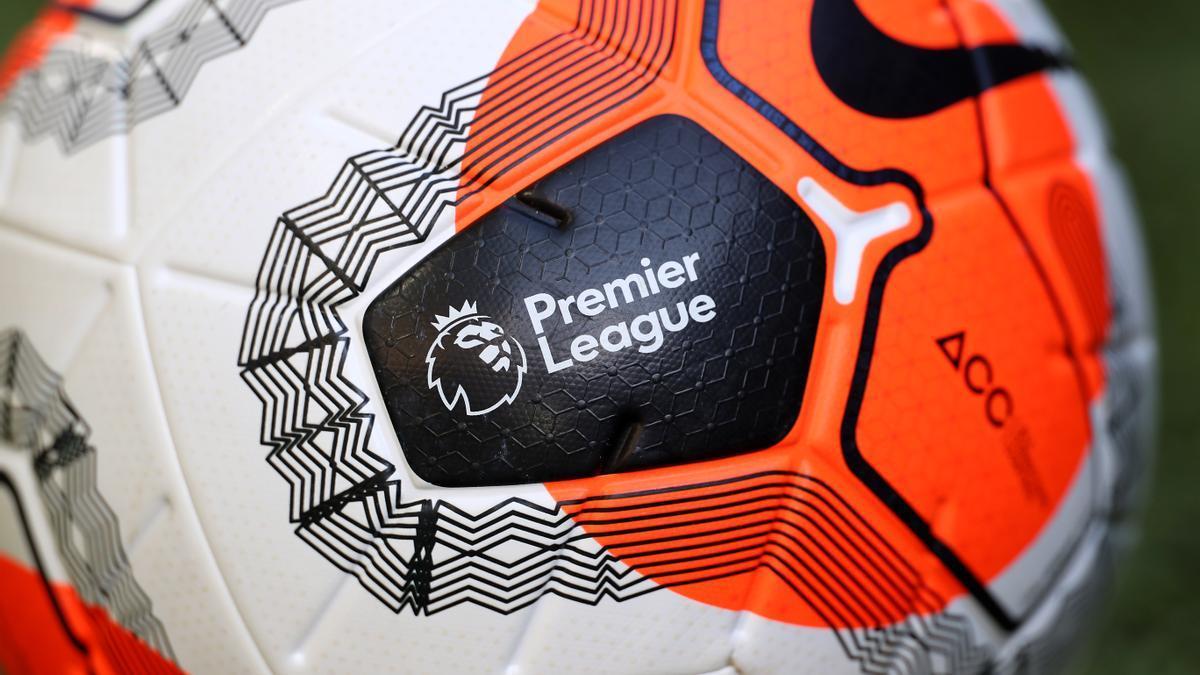 Balón oficial de la Premier League.