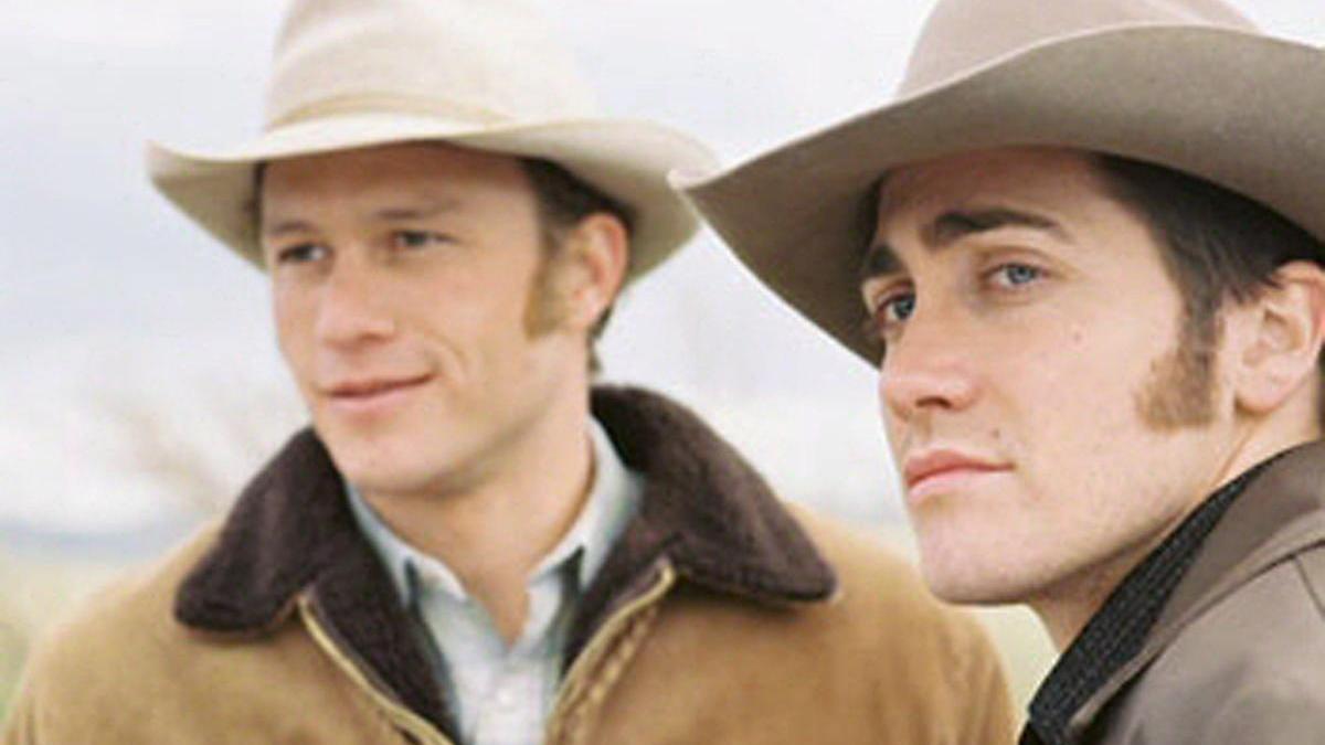 Fotograma de la película 'Brokeback Mountain'.