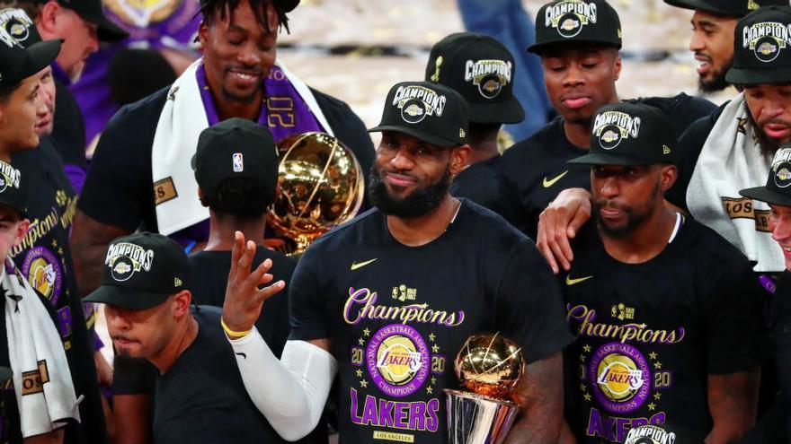 La NBA valora empezar la temporada 20-21 en Navidad