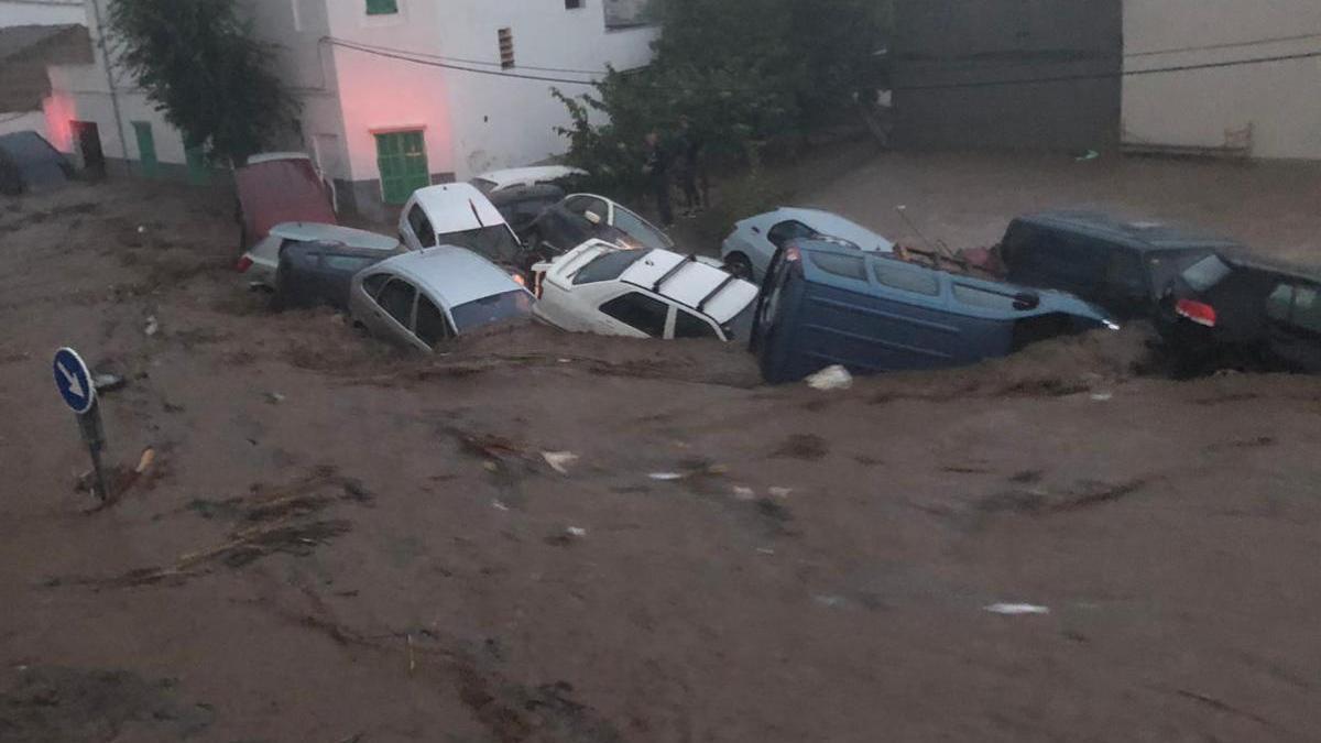 El desbordamiento del torrente provocó la catástrofe de Sant Llorenç.