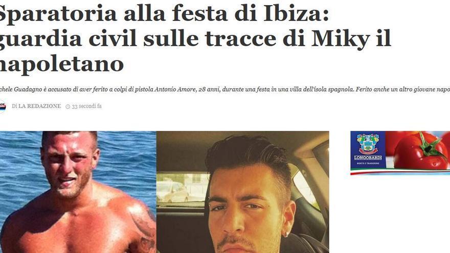 Tiroteo en una fiesta en Ibiza: la prensa italiana publica los nombres del tirador y del herido grave con tres tiros en la cabeza