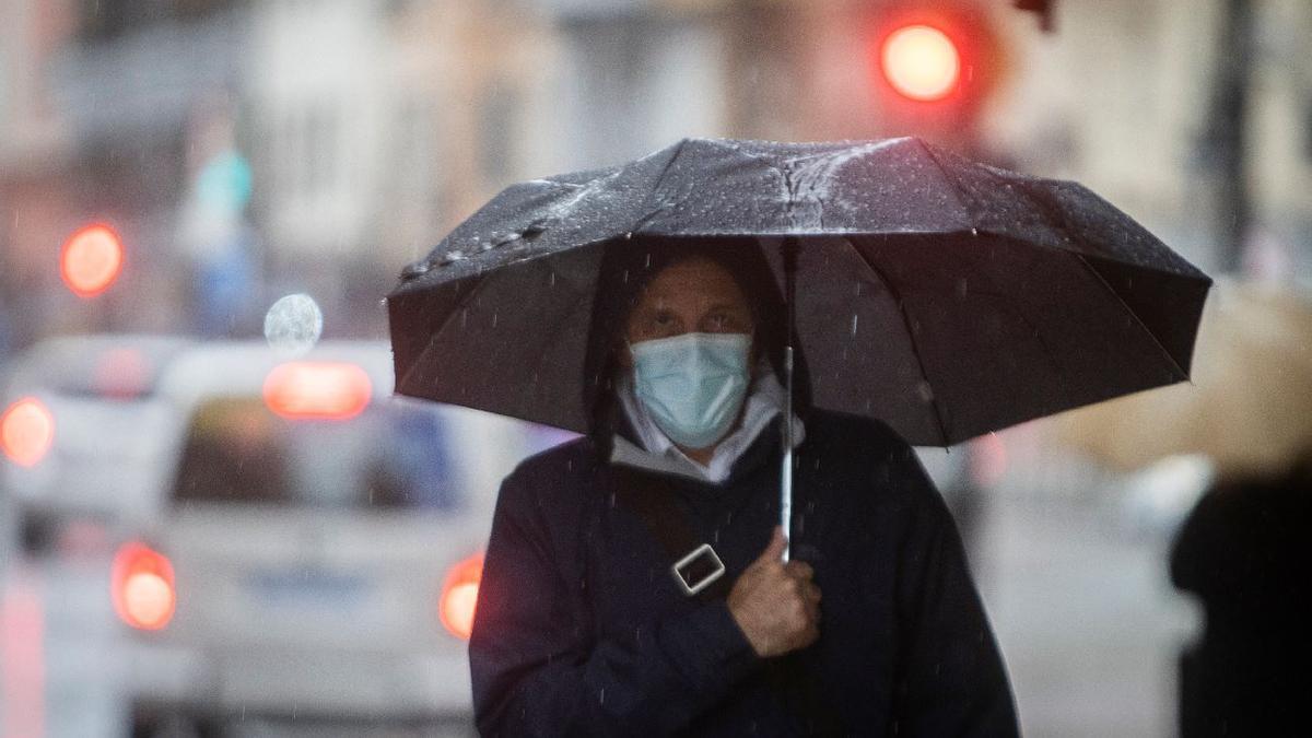 El tiempo en Valencia: hoy no desaparece la lluvia