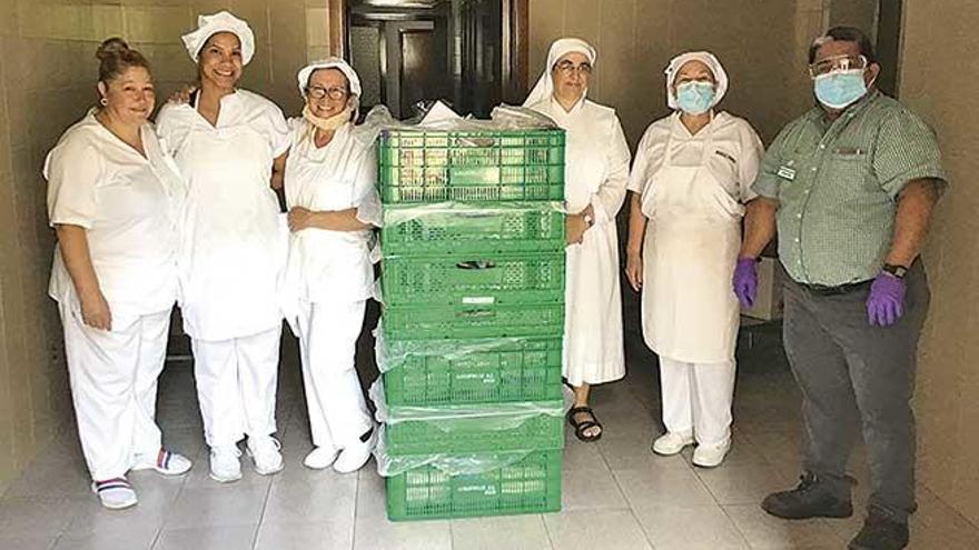 Mercadona dará cada día alimentos a las Hermanitas de los Pobres de Palma