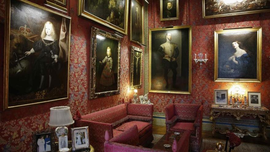 El Palacio de Liria abre para mostrar el lujo de sus salas