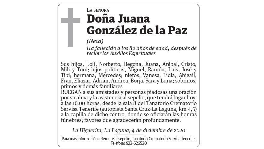 Juana González de la Paz
