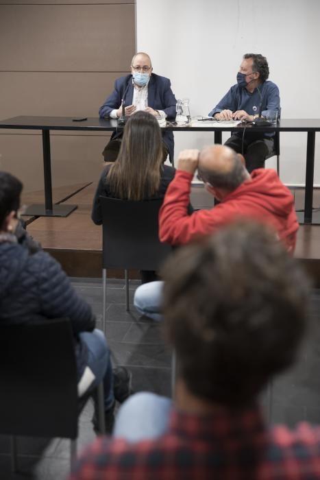 Antoni Gelonch presenta «Napoleó, la revolució i els catalans» a l''''Espai Òmnium de Manresa