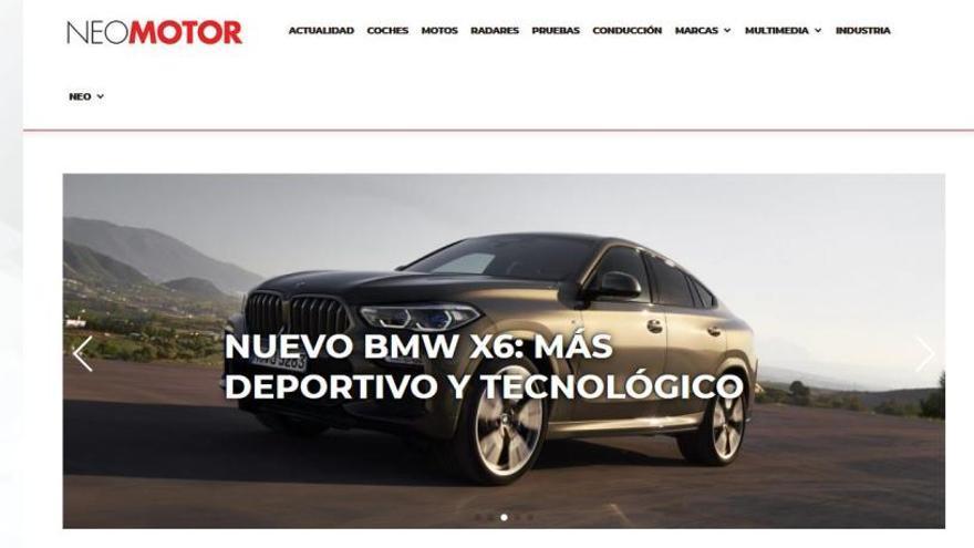 Neomotor incorpora a Motor Zeta a su portal web