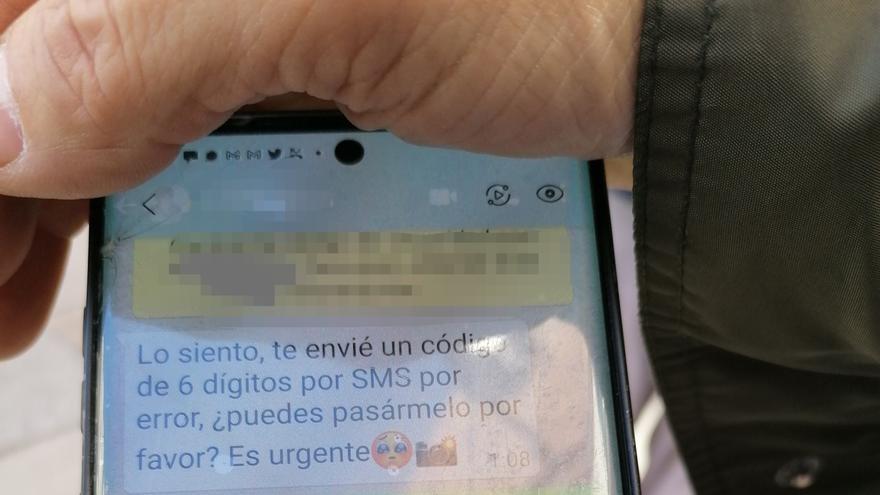 Robo masivo de cuentas de WhatsApp en Zamora