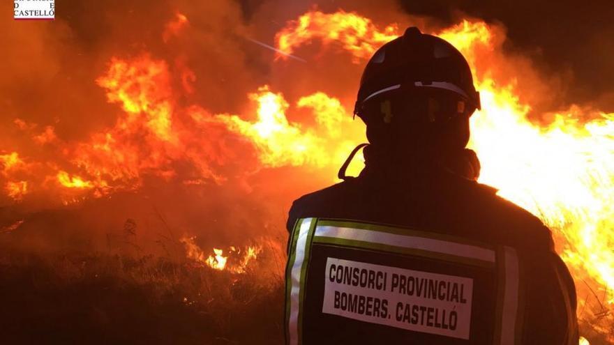 Sin sospechosos sobre el fuego del Prat de Cabanes