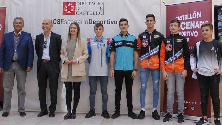García Dols ejerce de anfitrión en la presentación del GP de la Comunitat Valenciana del Mundial 2019