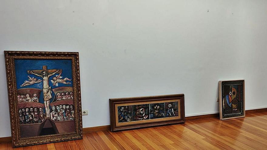 La bienal dedicada a Laxeiro mostrará 25 trabajos inéditos del artista cedidos por particulares