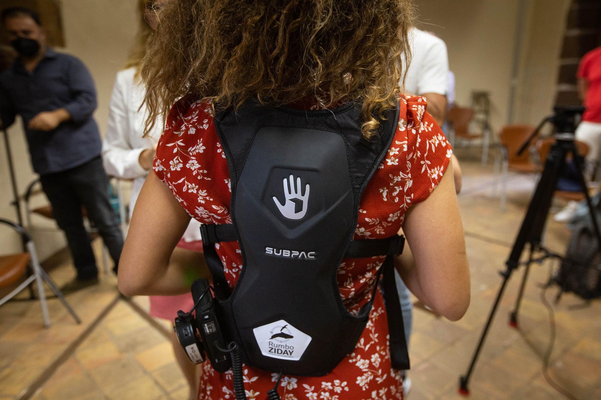 Presentación mochilas sensitivas