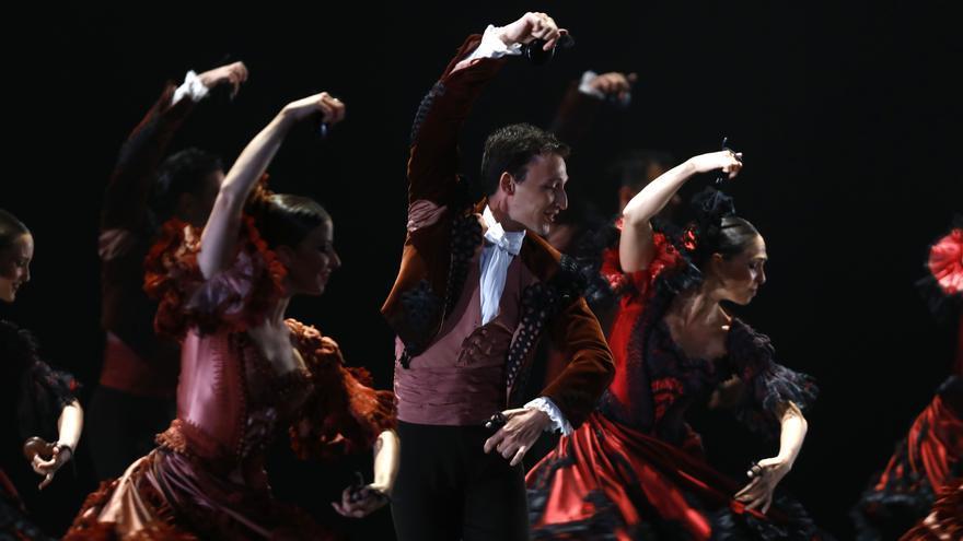 Actuación del Ballet Nacional de España en el Palacio de Congresos de la Expo