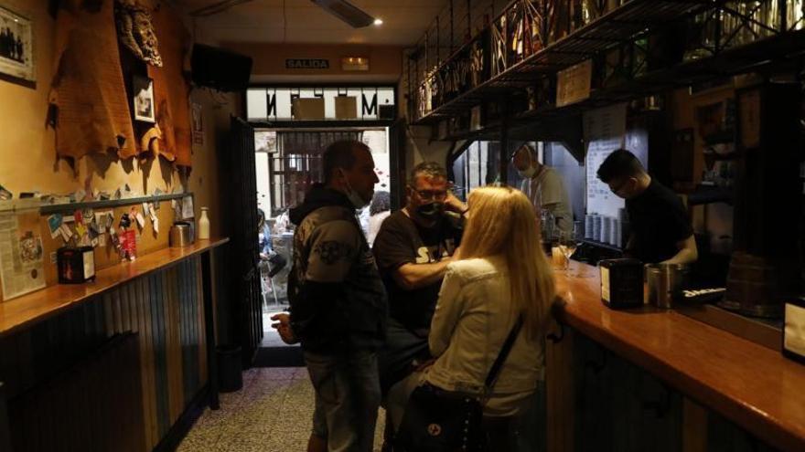 Vuelve el consumo en barra dentro de los bares de Zamora