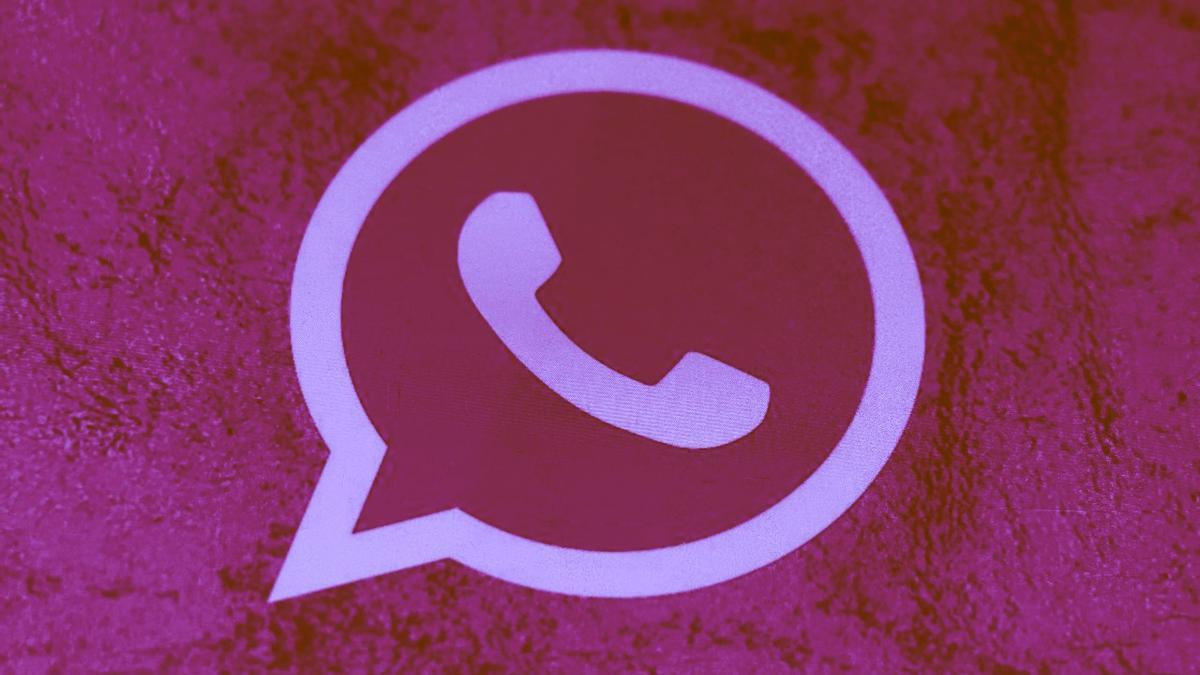 WhatsApp Rosa, el nuevo virus de la aplicación de mensajería.