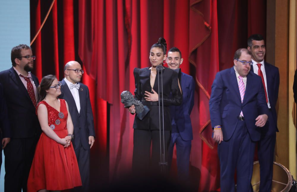 Goya 2019 a la mejor actriz de reparto. Carolina ...