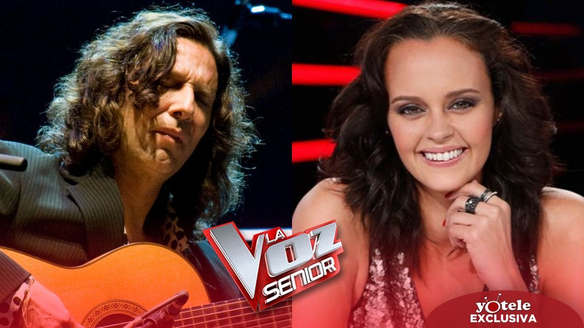 Shaila Dúrcal and Tomatito join & # 039; La voz senior 3 & # 039;  as advisers.