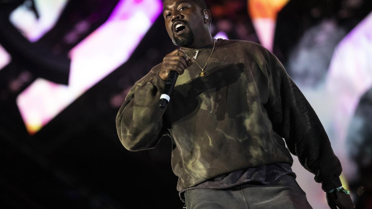 El artista Kanye West.