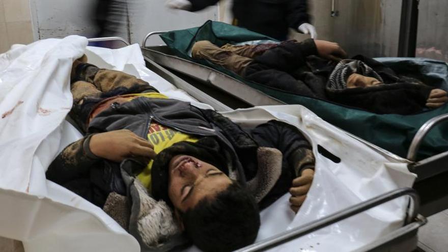 Dos jóvenes mueren en un ataque del ejercito de Israel en Gaza