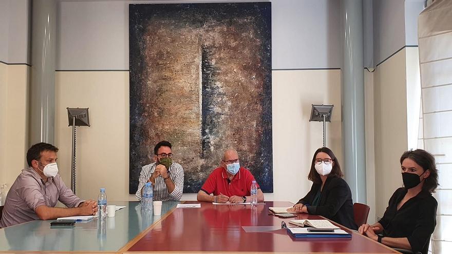El Ayuntamiento urge al Consell el desbloqueo de las obras del Centro 14 de Alicante
