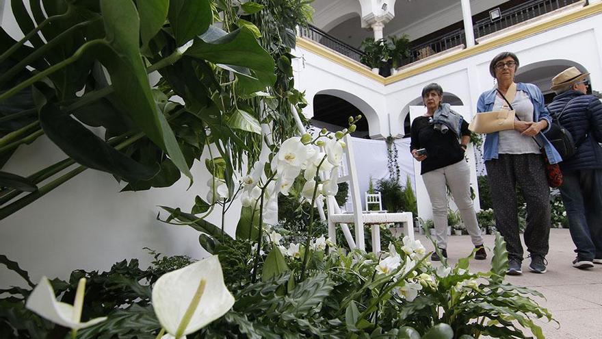 Flora expondrá una de sus instalaciones en el Patio de los Naranjos de la Mezquita