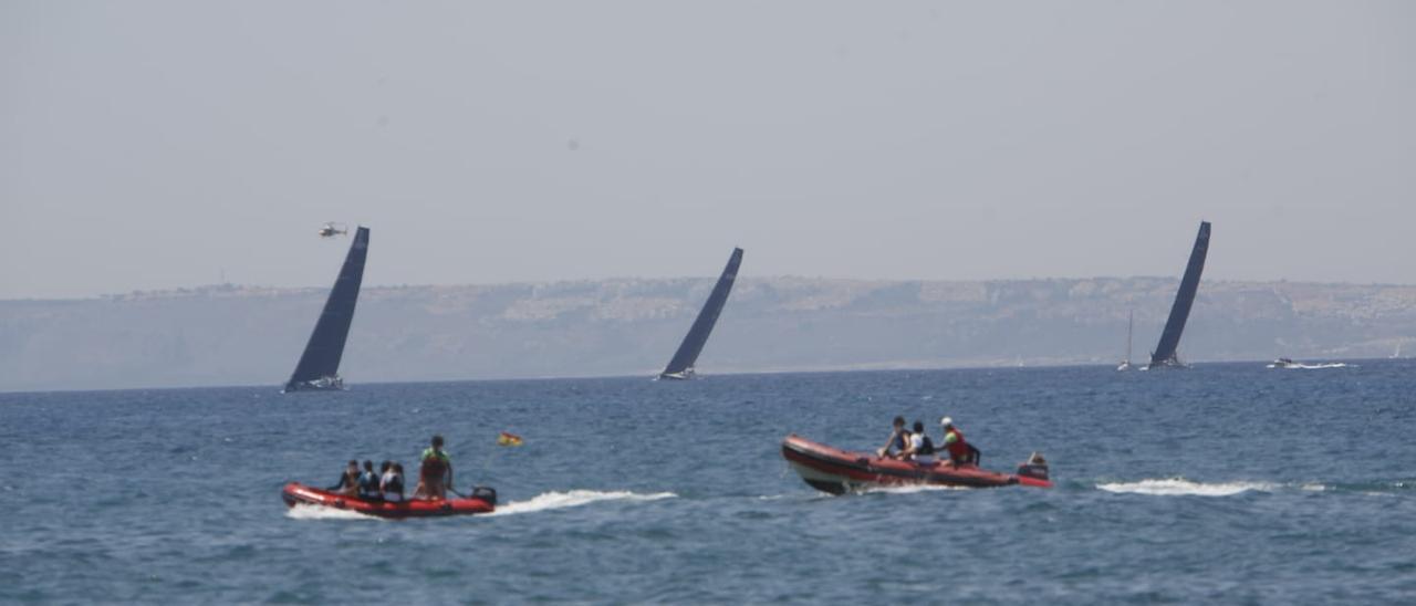 Alicante despide a la flota a lo grande