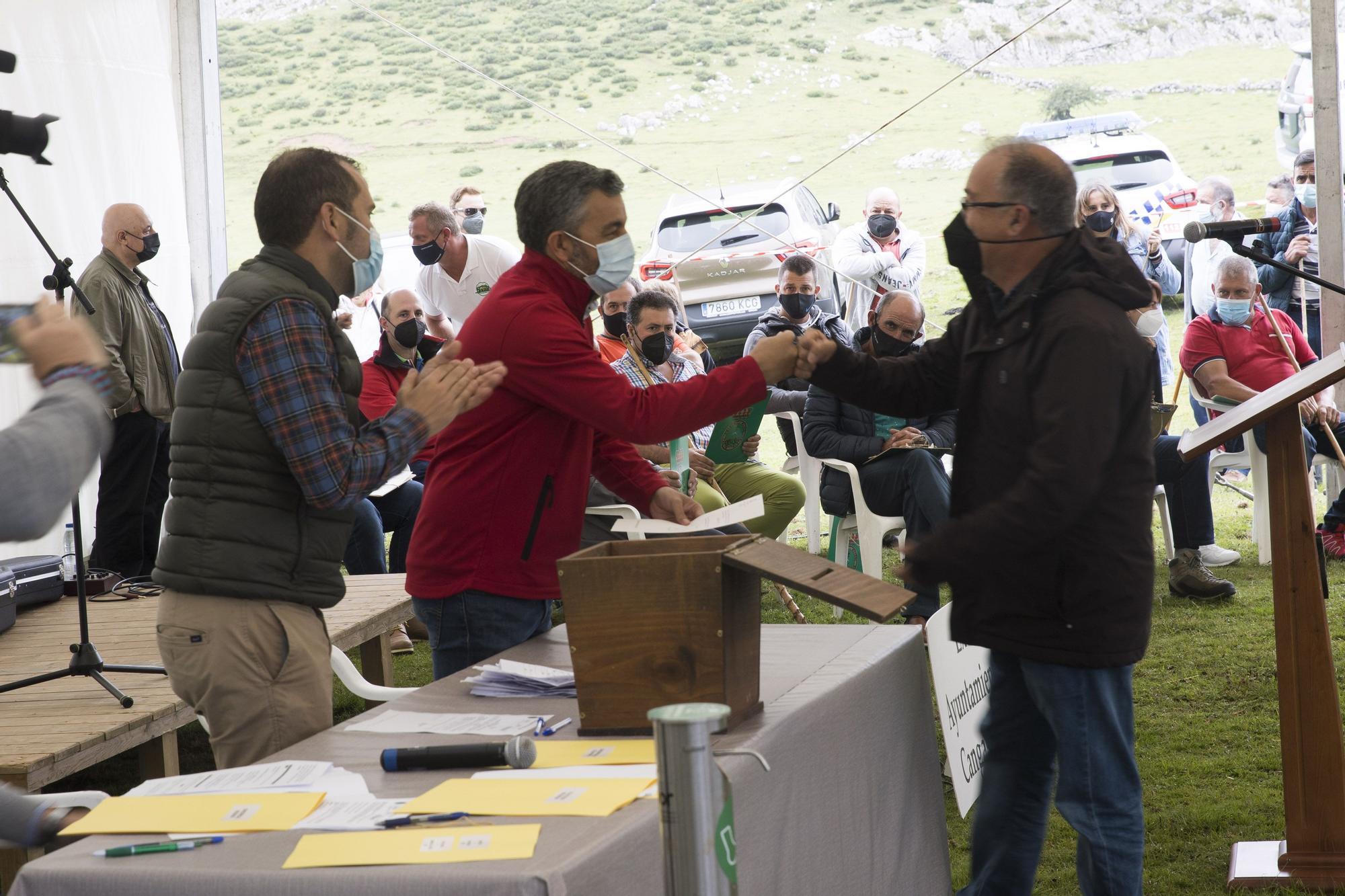 Fiesta del pastor 2021 en Vega de Enol