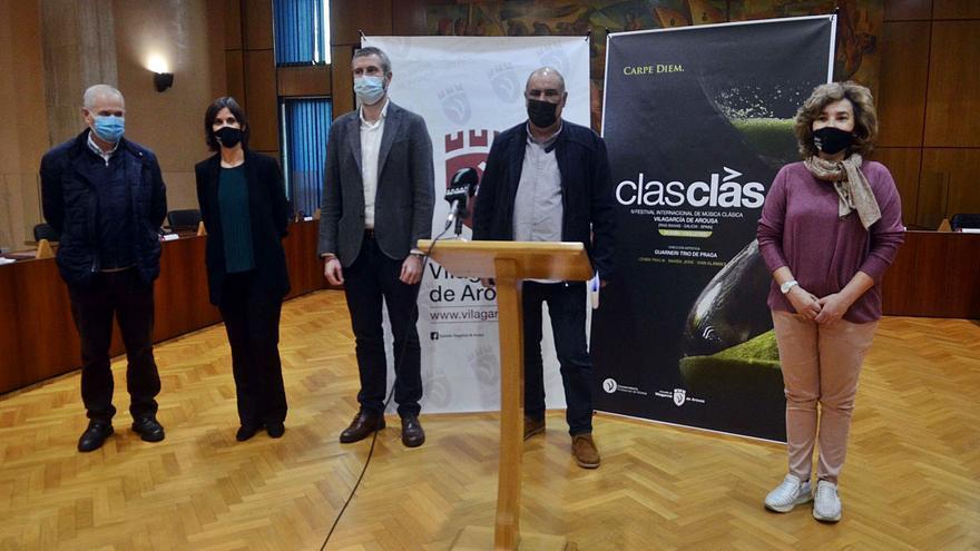 """Vilagarcía presenta el festival de música clásica 2021 bajo el lema """"Carpe Diem"""""""