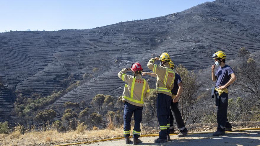 El risc d'incendi és extrem en deu municipis de l'Alt Empordà