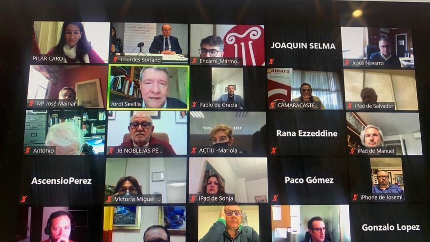 Las Cámaras de Comercio apoyan convertir el eje Madrid-Comunidad Valenciana en un corredor verde y digital