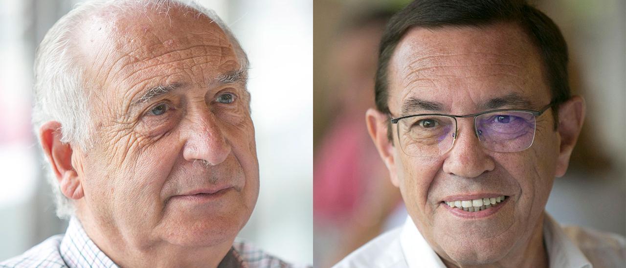 Vicente Gotor y Juan Vázquez.