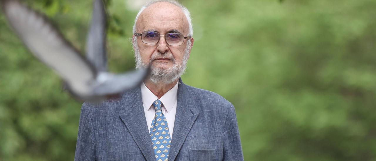 Isidro Bango Torviso, este viernes, en Oviedo.
