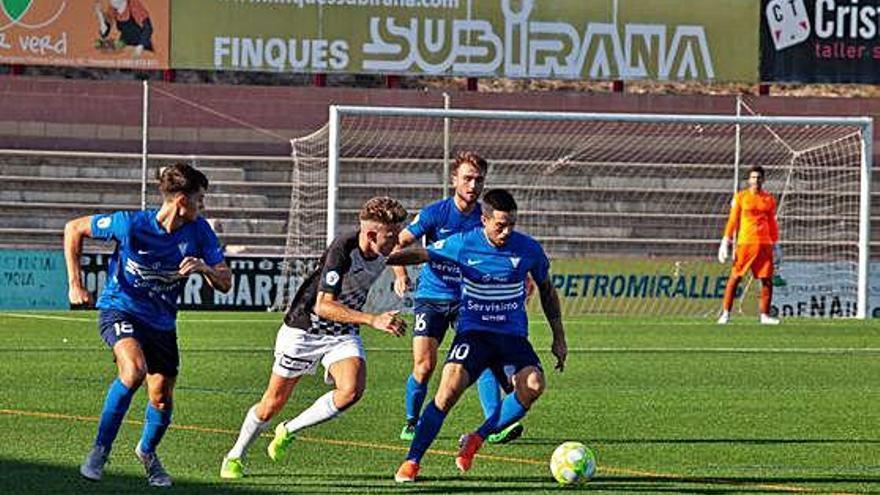 Excessiva derrota de l'Igualada en el debut a Tercera a les Comes