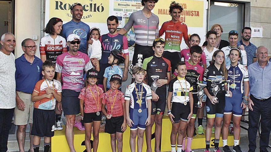 Indurain supera a Salmerón y Gelabert en Llubí