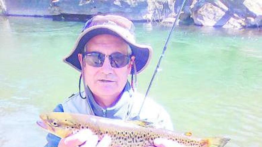 Tercer lloc de Francisco Prada a l'estatal màster de pesca a mosca de salmònids