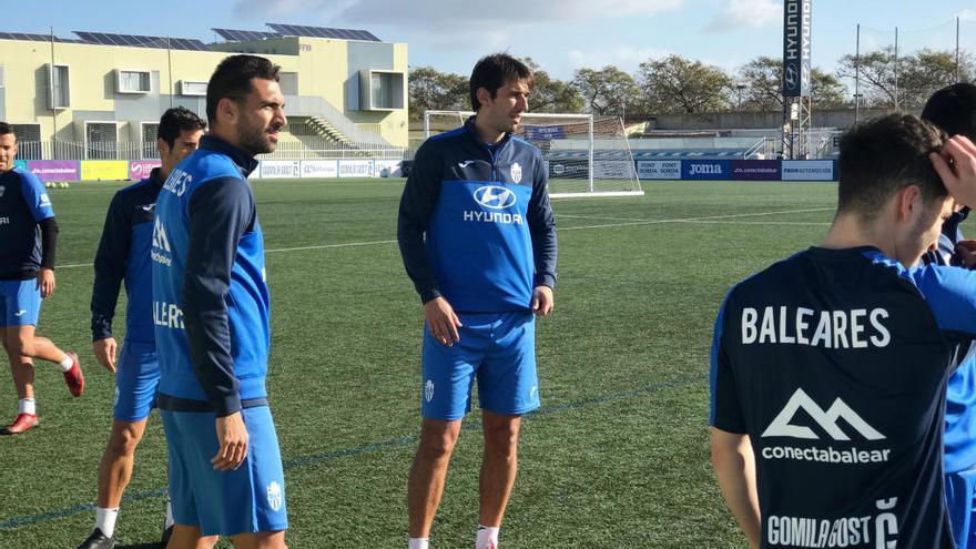 Lekic realiza su primer entrenamiento con el Atlético Baleares