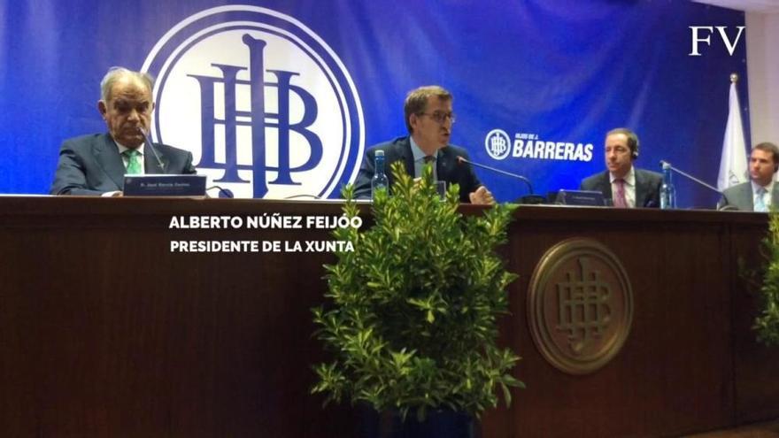 Ritz eligió Barreras por su gestión y la capacidad de la industria auxiliar viguesa