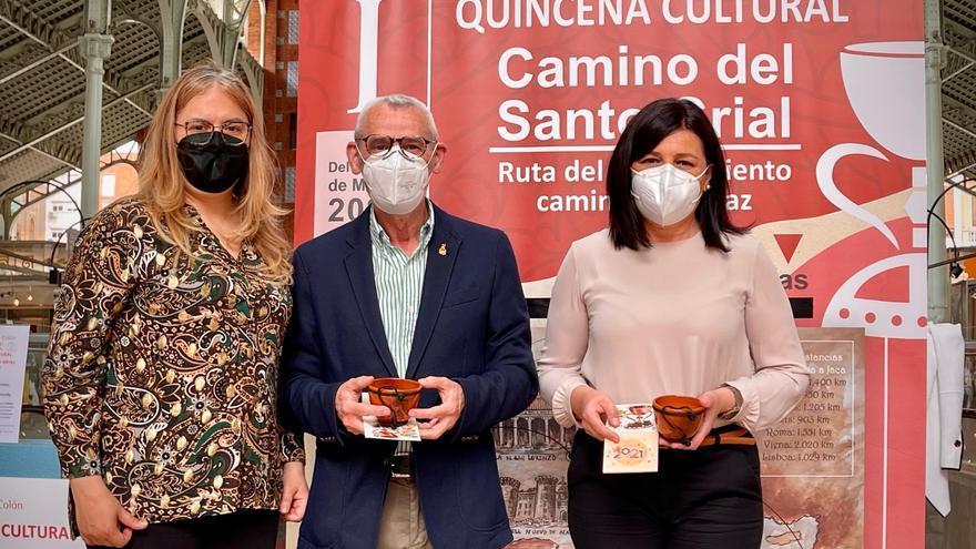 """Alboraia presente en la inauguración de la """"I Quincena Cultural El camino del Santo Grial"""""""