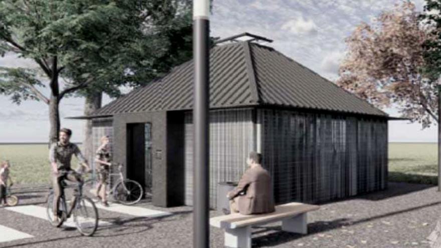 Sant Vicenç tindrà un espai tancat per deixar-hi bicicletes a l'estació dels Ferrocarrils