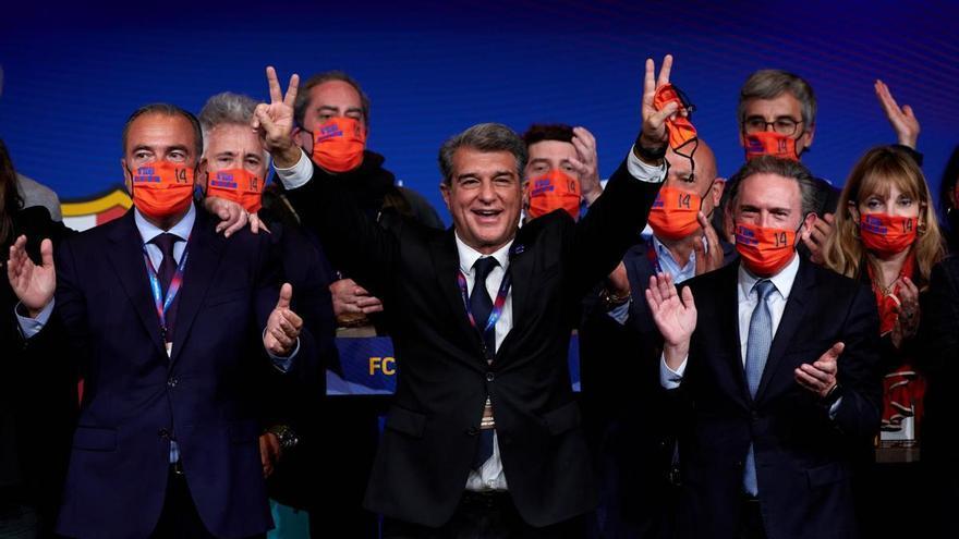 Joan Laporta serà investit president del Barça aquest dimecres a la tarda