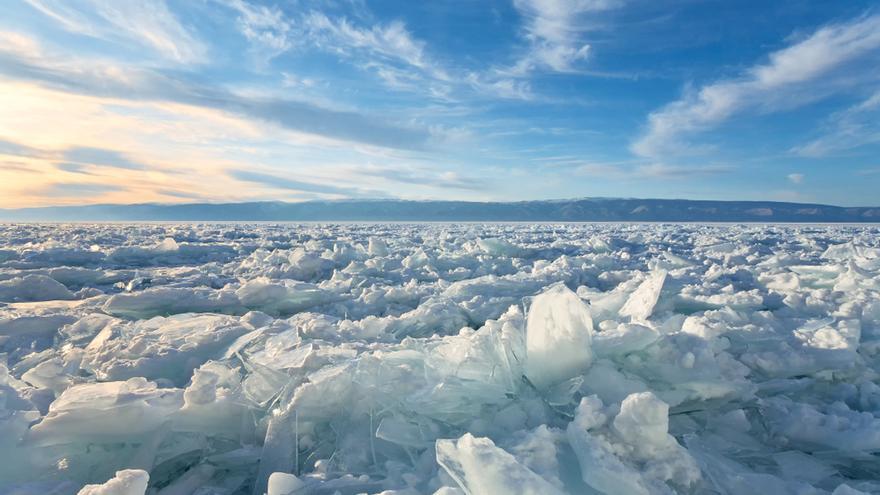 El deshielo en el Antártico favorece que se formen las nubes, según un estudio