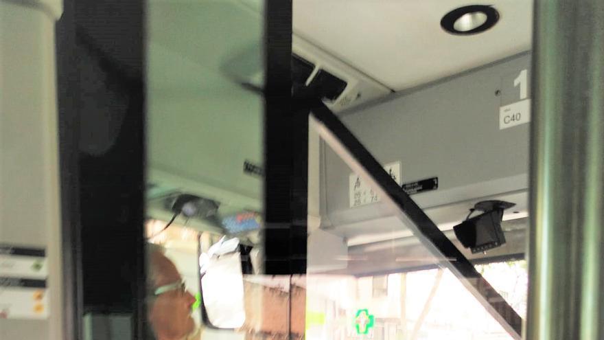 La EMT rectifica y afirma que los chóferes deben llevar mascarilla