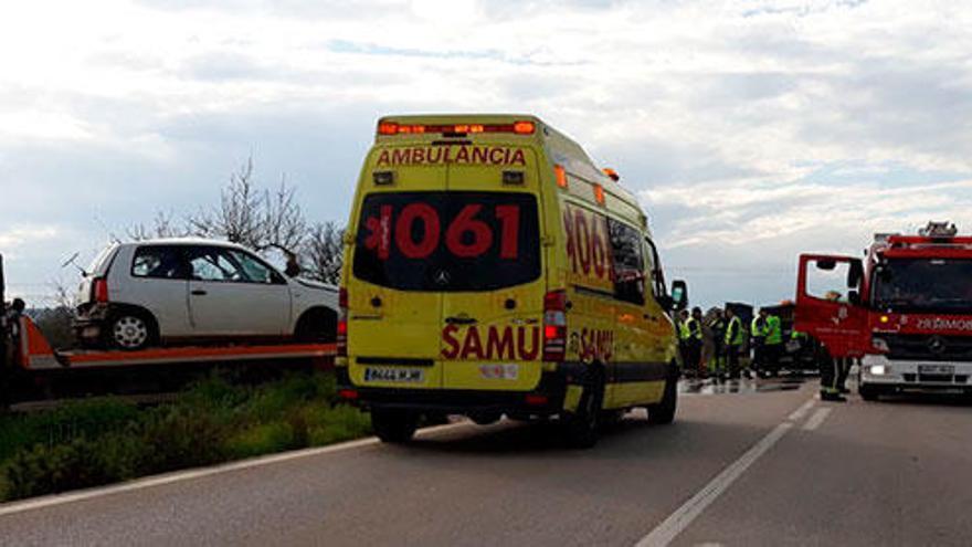 22-Jährige stirbt bei Frontalkollision zwischen Ariany und Santa Margalida