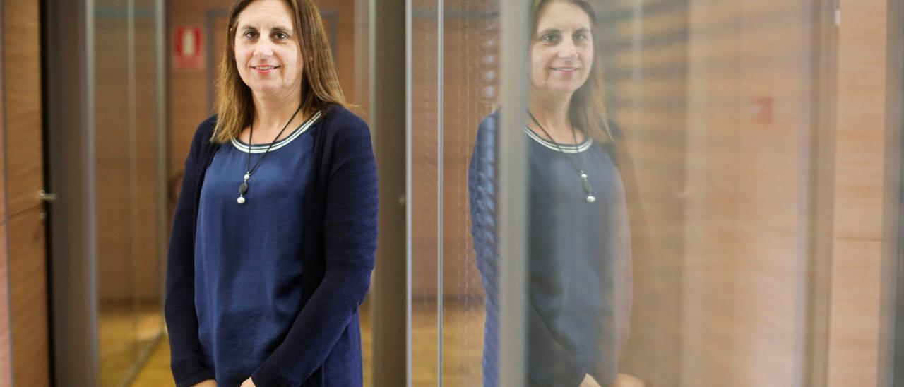 La concejala de Educación, Nuria Delmiro.