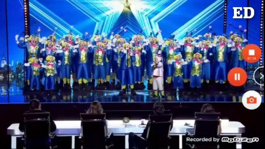 Redoblones, la murga infantil que también cantó en 'Got Talent'