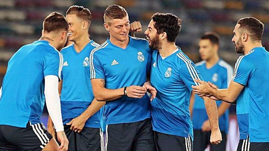 El Real Madrid afronta la fina del Mundialito con la moral muy alta