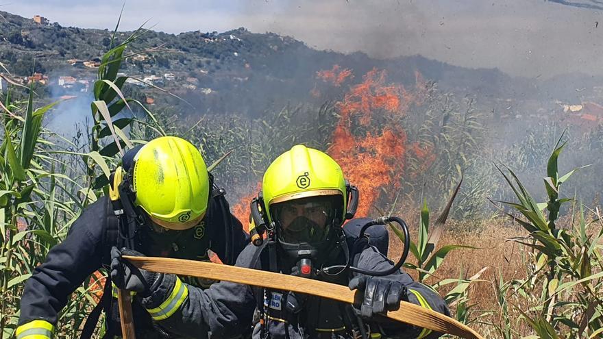 La Guardia Civil detiene a un hombre por el incendio de Santa Brígida del pasado mes de junio